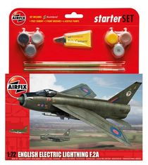 Starter Set maquette d'avion militaire : Eurofighter Typhoon - 1:72 - Airfix 50098