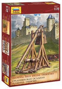 Maquette historique : Trébuchet médiéval - 1/72 - Zvezda 8516 08516 - france-maquette.fr