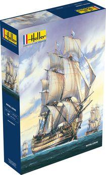 Maquette bateau : Le Royal Louis - 1/200 - Heller 80892