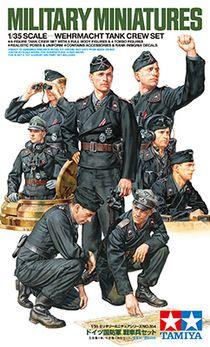 Figurines militaires - Tankistes Wehrmacht - 1/35 - Tamiya 35354