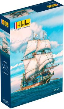 Maquette de voilier : Gallion espagnol - 1:200 - Heller 80835