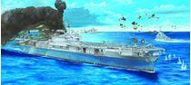 Maquette navire de guerre : Porte-avions US YORKTOWN - 1/200 - Trumpeter 3713