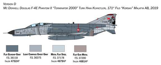 Maquette avion militaire : F‐4E/F Phantom II - 1:72 - Italeri 1448 01448
