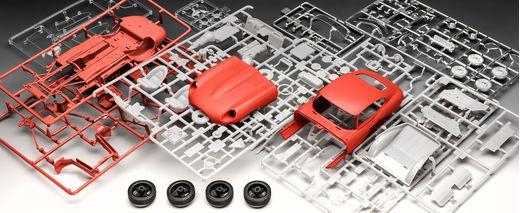 Model Set Voiture Jaguar E-Type Coupé 1:24 - Revell 67668, 67668