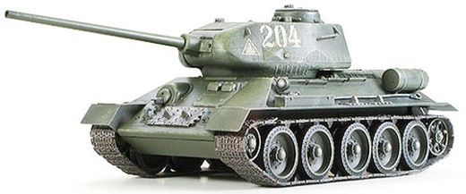 Maquette militaire : Char Russe T-34 / 85 - 1/35 - Tamiya 35138 - france-maquette.fr