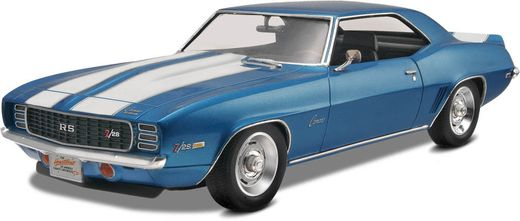 Maquette de voiture de collection : 1969 Camaro Z/28 RS - 1/25 - Revell US 17457