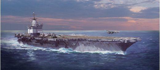 Maquette navire : USS Enterprise CVN-65 - 1:400 - Revell 05173, 5173
