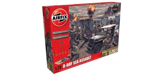 Maquettes militaires : Coffret cadeau D-day 75e anniversaire Sea - 1:72- Airfix 50156