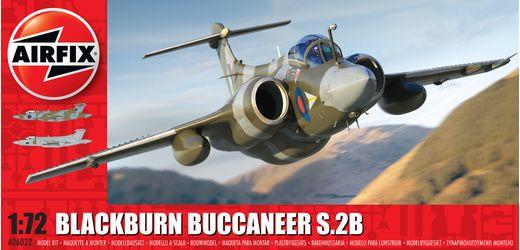Maquette d'avion militaire : Blackburn Buccaneer S.2 RAF - 1:72 - Airfix A06022 06022