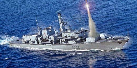 Maquette HMS TYPE 23 Frigate – Montrose (F236)