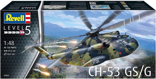 Maquette hélicoptère : CH-53 GSG - 1:48 - Revell 03856, 3856