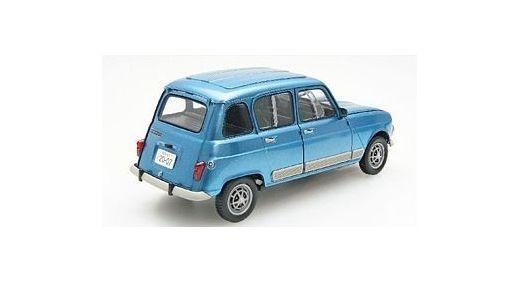 Maquette voiture de collections : Renault 4 GTL - 1/24 - Ebbro 25011 - france-maquette.fr