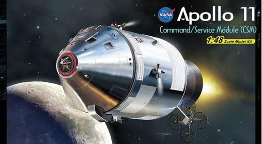 Maquette espace - Apollo 11 CSM ‐ 1/48 - Dragon 11007