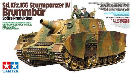 Maquette Char d'assaut allemand - Brummbar Late Production - 1/35 - Tamiya 35353