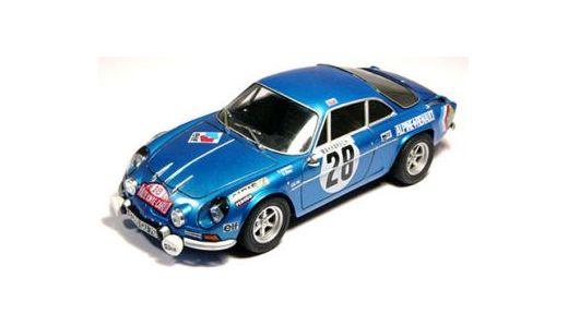 Maquette voiture de sport : Alpine Renault A110 - 1/24 - Tamiya 24278