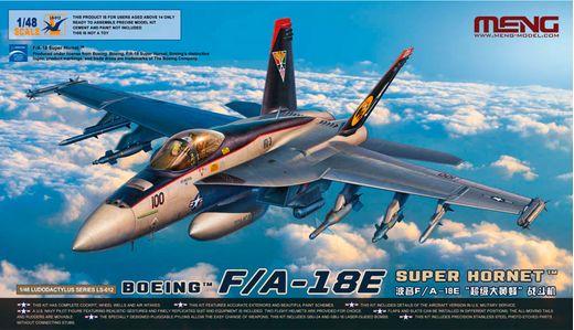 Maquette militaire : Boeing F/A-18E Super Hornet - 1:48 - Meng LS-012