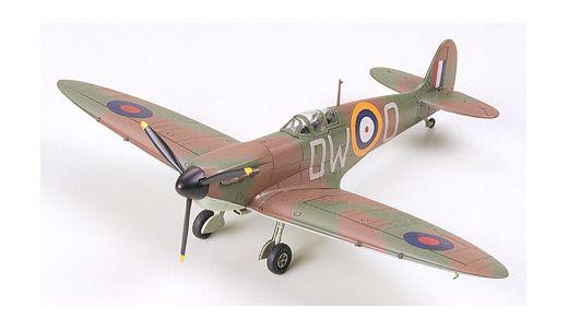 Maquette avion militaire : Supermarine Spitfire Mk.I - 1/72 - Tamiya 60748