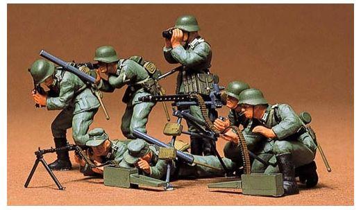 Tamiya 35038 : Mitrailleurs allemands  - 1/35
