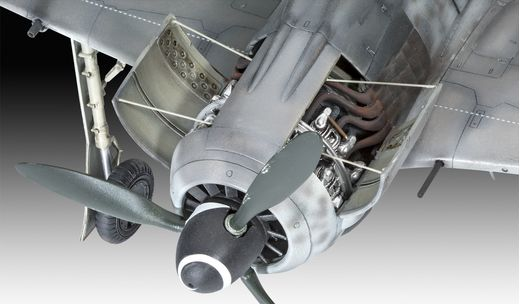"Maquette militaire : Fw190 A-8 ""Rammjäger"" - 1:32 - Revell 03874, 3874"