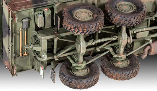 Maquette militaire : Man 7T Milgl - 1:35 - Revell 03291, 3291