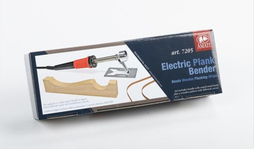 Outillage pour maquettes en bois : Courbe lattes électrique - AMATI 07205 7205