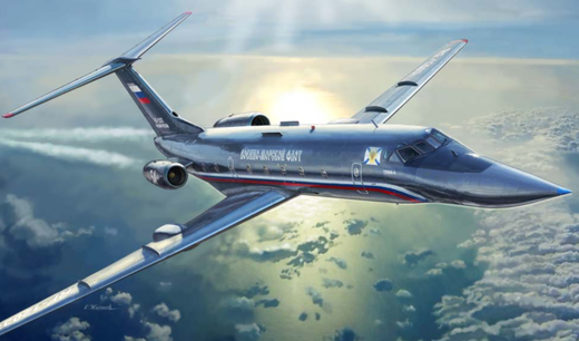 Maquette d'avion civil : Tupolev TU‐134 UBL - 1/144 - Zvezda 7036 07036 - france-maquette.fr