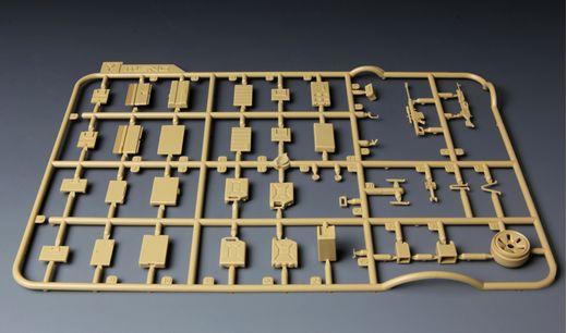 Accessoires militaires : Équipement individuel pour US Army Infantry (moderne) - 1:35 - Meng SPS015