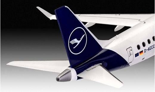 Maquette avion civil : Embraer 190 Lufthansa New Livery - 1:144 - Revell 3883 03883