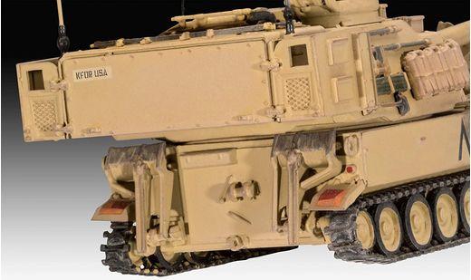 Maquette militaire : M109A6 - 1:72 - Revell 03331, 3331