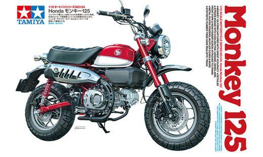 Maquette moto : Honda Monkey 125 - 1/12 - Tamiya 14134