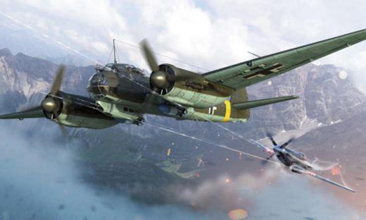 Maquette d'avion : Junkers Ju88A-4 War Thunder - 1:72 - Italeri 35104