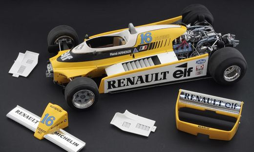 Maquette voiture de sport : Renault RE20 Turbo - 1:12 - Italeri 04707 4707