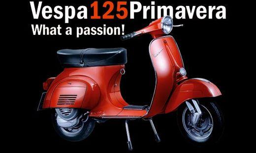 Maquette moto : Vespa 125 Primavera - 1/9 -  Italeri 04633 4633
