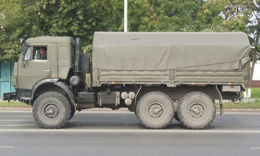 Maquette militaire : Kamaz 5350 «Mustang» 6x6 - 1/35 - Zvezda 03697 3697