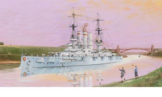 Schleswig – Holstein Battleship 1908 1/350 Echelle :1:350