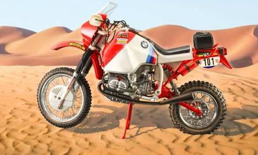 Maquette de moto : BMW R80G/S Paris Dakar 1985 - 1:9 - Italeri 04641