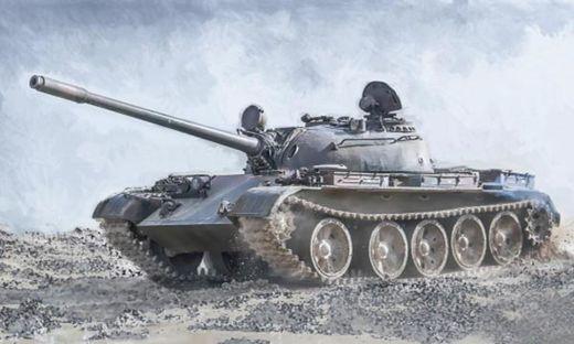 Maquette militaire : Char Moyen Soviétique T-55 - 1:72 - Italeri 07081 7081