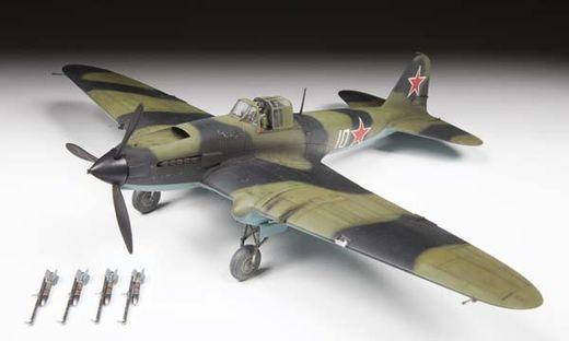 Maquette d'avion militaire : Il-2 Stourmovik Début de Production - 1/48 - Zvezda 04825