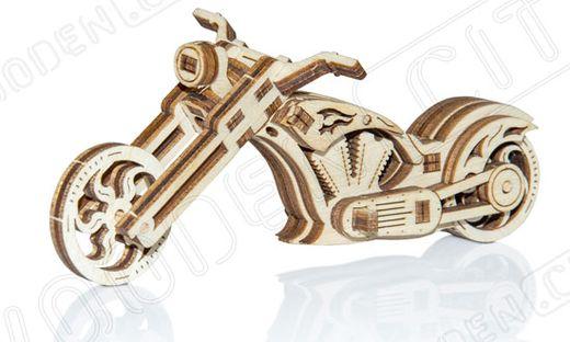 Puzzle 3D / Maquette bois moto
