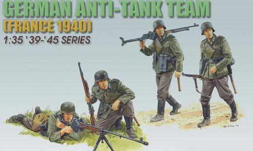 Figurines militaires : Escouade Allemande France 1940 - 1/35 - Dragon 06196 6196