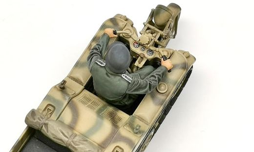 Maquette véhicule militaire léger : Sd.Kfz.2 Kettenkraftrad - 1:35 - Tamiya 35377
