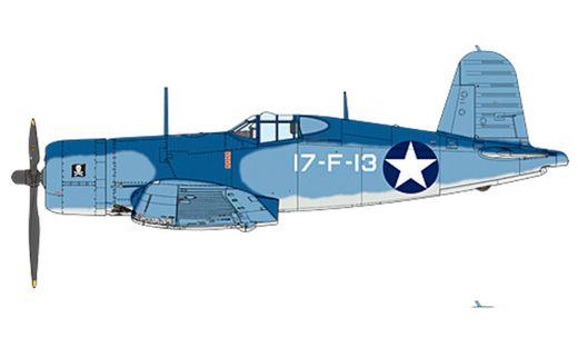 Maquette d'avion militaire : F4U-1 Corsair - 1:32 - Tamiya 60324