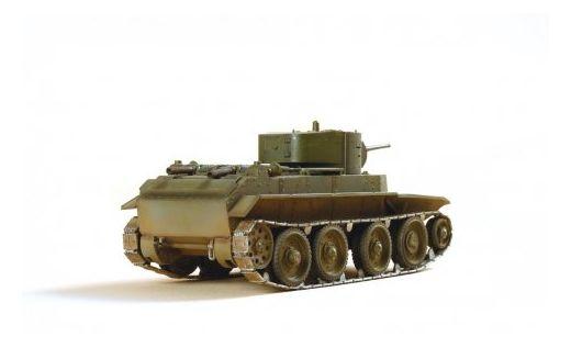Maquette militaire : Char léger BT‐7 - 1/35 - Zvezda 3545 03545 - france-maquette.fr
