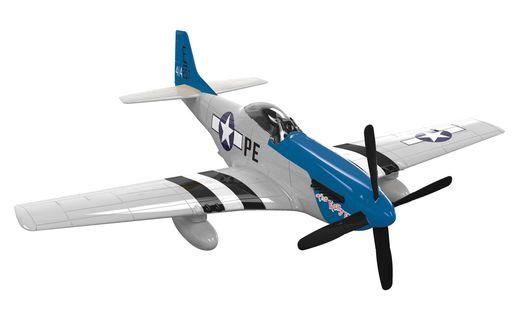 Quick Build - Maquette avion militaire : D-Day P-51D Mustang - Airfix J6046