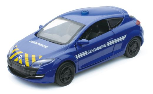 Miniature voiture Megane Gendarmerie RS - 1/32 - New Ray 51177