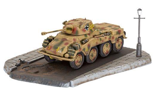Maquette militaire : 1er Set Diorama - Sd.Kfz. 234/2 Puma - 1:76 - Revell 03298, 3298