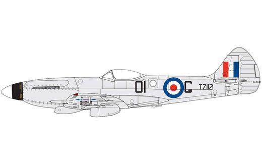 Maquette d'avion militaire : Supermarine Spitfire MK.XIV - 1:48 - Airfix 05135 5135