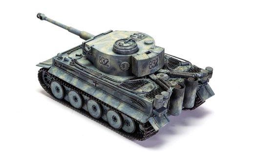Maquette de véhicule militaire : Tiger I - 1:35 - Airfix 01363 1363