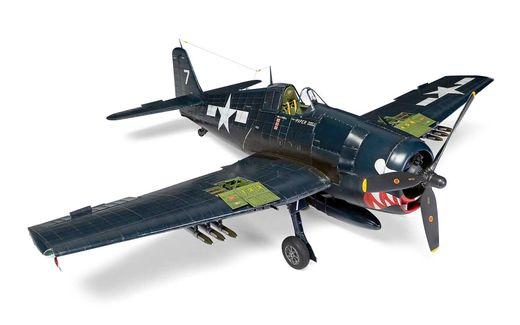 Maquette d'avion militaire :  Grumman F6F-6 Hellcat - 1:24 - Airfix 19004