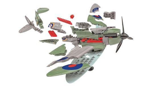 Quick Build - Maquette avion militaire : D-Day Spitfire - Airfix J6045